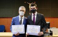 Marcos Santana e Paulo Júnior são diplomados prefeito e vice de São Cristóvão