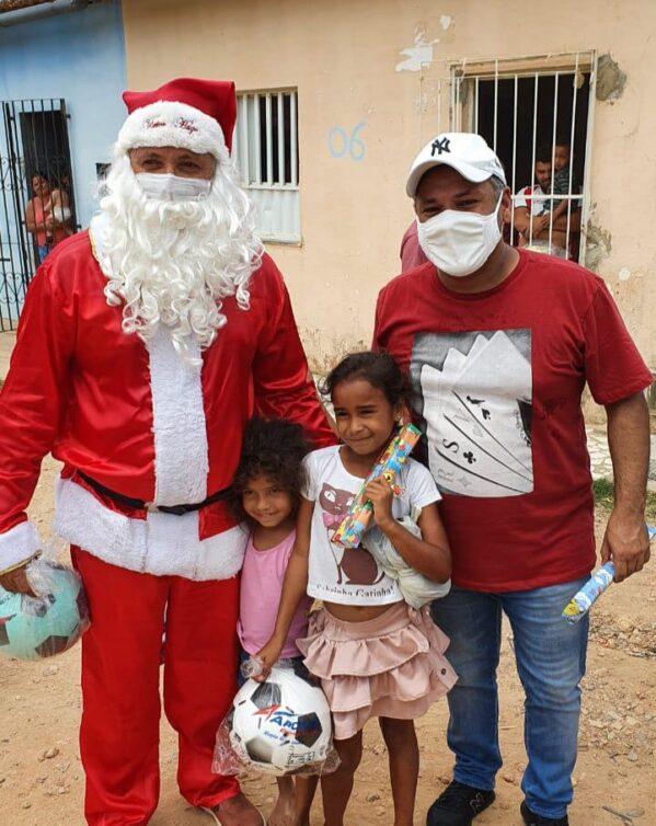 Deputado Estadual Ibrain de Valmir promove Natal Solidário para crianças carentes de Lagarto