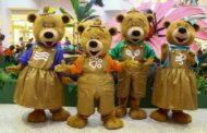 Família Urso encerra temporada no RioMar Aracaju