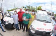 8 municípios recebem ambulâncias adquiridas com emenda do deputado João Daniel
