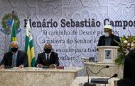 Célio de Zequinha toma posse após reeleição em Neópolis