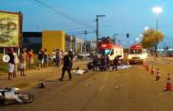 Acidente de trânsito na Avenida Tancredo Neves termina com duas mortes neste domingo