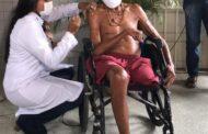 Indígenas da aldeia Xocó em Porto da Folha são vacinados contra Covid-19