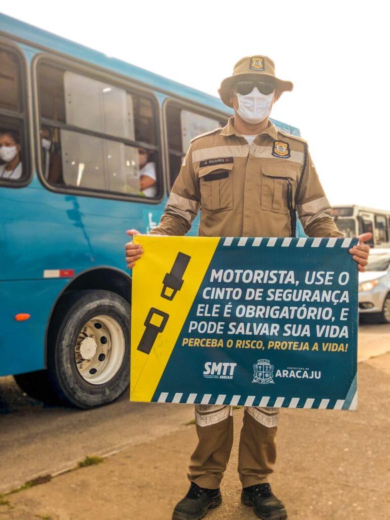 Volta às aulas: SMTT realizará ações educativas para o trânsito em frente às escolas