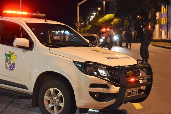 Polícia Militar registra clima de tranquilidade na primeira noite do toque de recolher