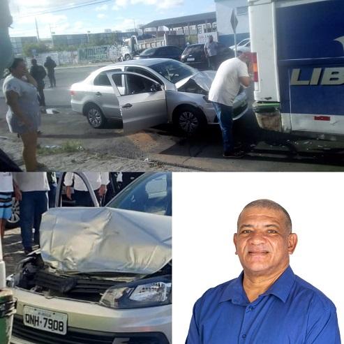 Policial Civil morre após veículo que ele dirigia colidir na traseira de um ônibus em Aracaju