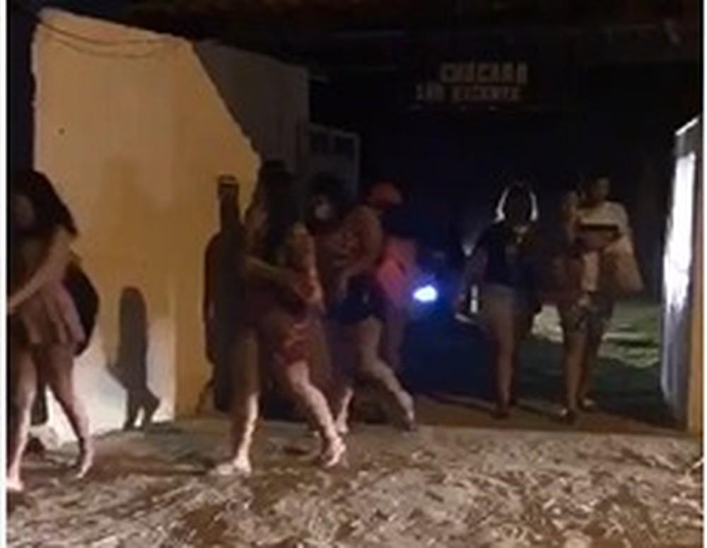 Polícia Militar interrompe festa com cerca de 100 pessoas no Mosqueiro