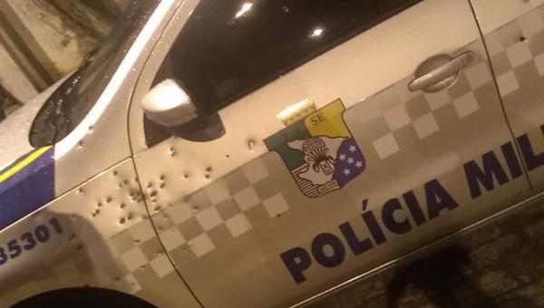 Criminosos explodem agência bancária e atiram contra viatura da Polícia Militar no interior do estado
