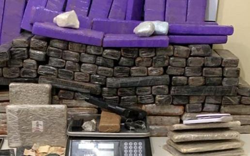 Polícia Civil apreende mais de 100kg de drogas em Areia Branca