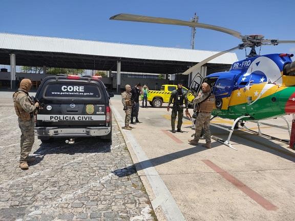 Em hotel na Orla de Atalaia, Polícia Civil prende um dos maiores assaltantes de banco do país foragido de Pernambuco