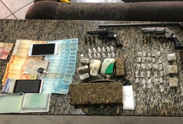 Três morrem em operação conjunta contra tráfico de drogas, homicídios e roubo no interior do estado
