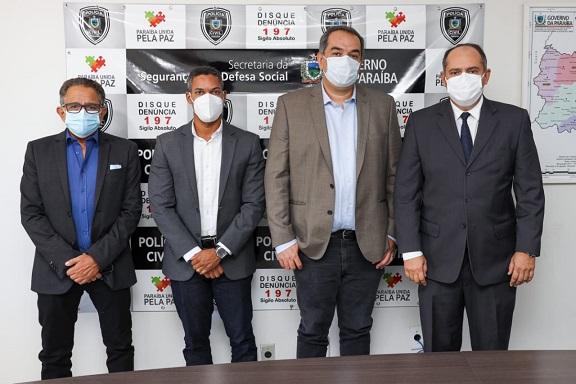 Delegados da Polícia Civil de Sergipe chegam à Paraíba para colaborar com investigações sobre ação que resultou com a morte de um empresário