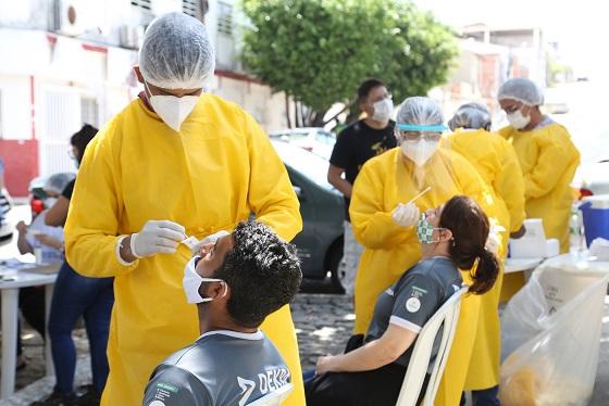 Sergipe registra 597 novos casos de Covid-19 e mais 14 óbitos que estavam em investigação