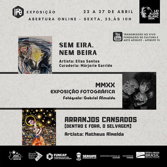 Galeria J. Inácio recebe exposições da Lei Aldir Blanc
