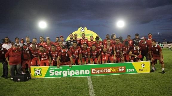 Lagarto vence por 1 a 0, mas Sergipe fica com título do Campeonato Sergipano 2021