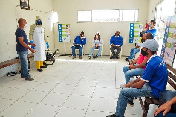 Agentes de combate a Endemias de São Cristóvão recebem novos Equipamentos de proteção individual (EPIs)