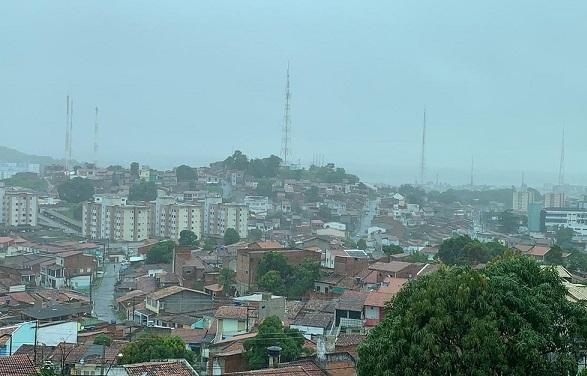 Chuvas leves devem ser registradas em todas as regiões de Sergipe a partir desta quarta-feira