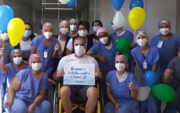 Deputado federal Fábio Reis tem alta de hospital em Aracaju após tratamento contra a Covid-19