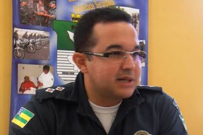 Através de nota, Polícia Militar lamenta a morte do major Diego Paiva