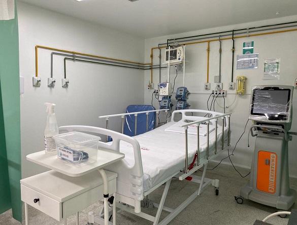 Governo de Sergipe abre mais oito leitos de UTI exclusivos para pacientes com Covid-19