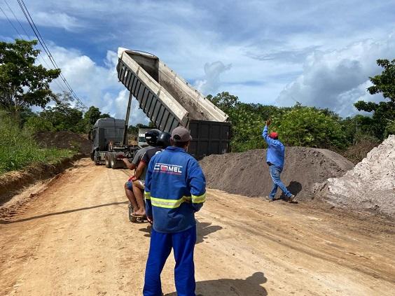 Tem início a construção da rodovia que liga Rita Cacete à BR-101