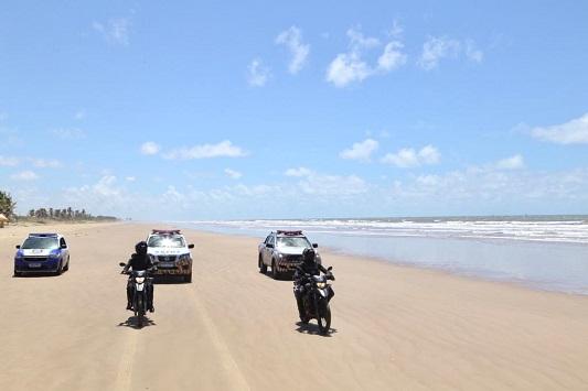 Praias de Aracaju permanecem com restrições no final de semana