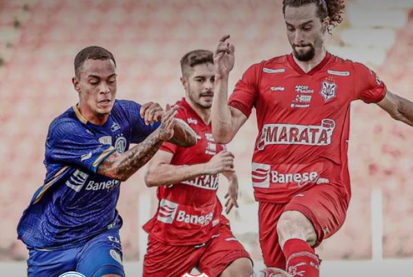 Sergipe derrota o Confiança e chega à final do Campeonato Sergipano
