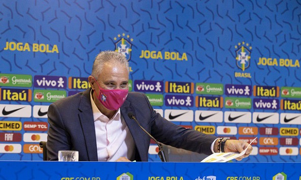 Técnico Tite convoca seleção para enfrentar Equador e Paraguai pelas Eliminatórias