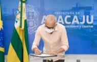 Prefeito Edvaldo assina ordens de serviços para três importantes obras em Aracaju