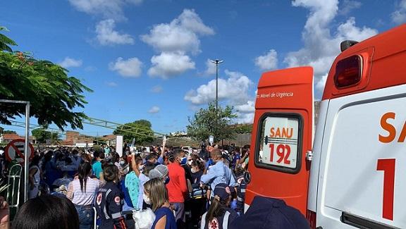 4 morrem após fogo na ala de covid de hospital, diz Prefeitura de Aracaju