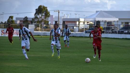 Sergipe e Lagarto fazem o primeiro jogo da final do Sergipão 2021