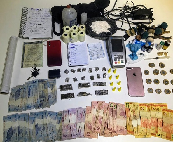 Homem é preso por suspeita de tráfico de drogas, crimes ambientais e exploração de jogos de azar