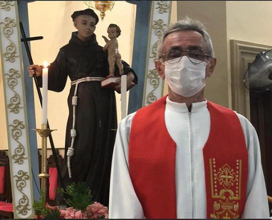 Padre João Batista Oliveira morre após complicações da Covid-19