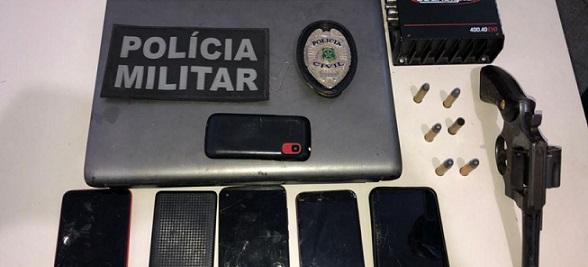 Quatro suspeitos são presos e um morre em confronto durante operação no interior de Sergipe
