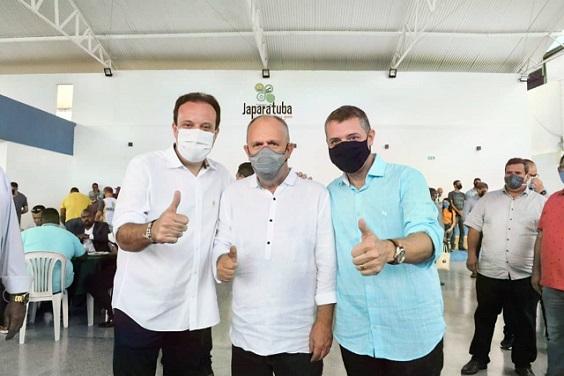 Governador Belivaldo Chagas elogia trabalho do ex-deputado André Moura