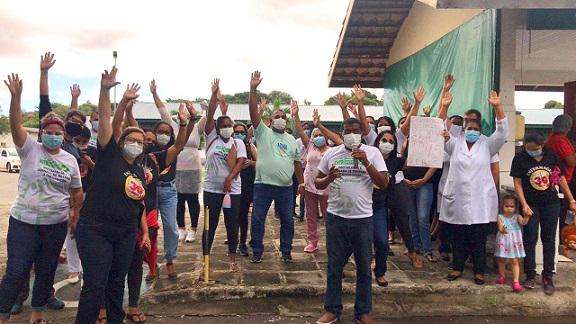 Servidores da Fundação Hospitalar de Saúde deliberam greve a partir de 15 de julho