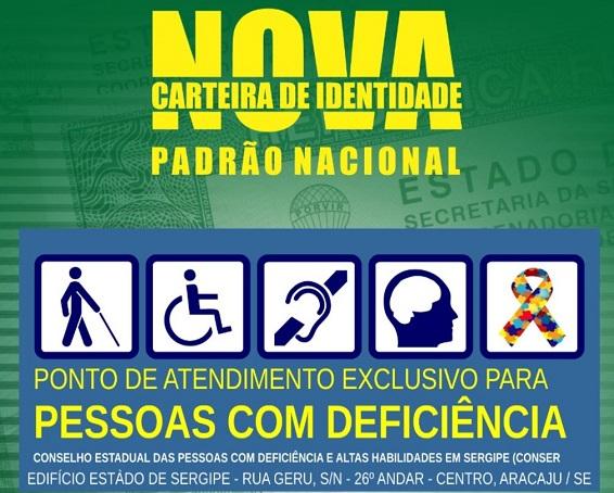 Carteira de Identidade: Instituto de Identificação disponibiliza ponto de atendimento exclusivo para pessoas com deficiência