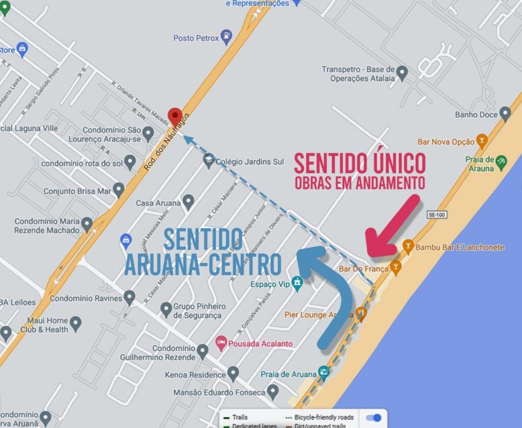 Governo informa sobre mudança de trânsito no sentido das praias da Zona Sul da capital.
