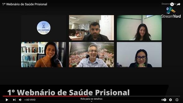 Vice-governadora participa de Webinário sobre Saúde Prisional
