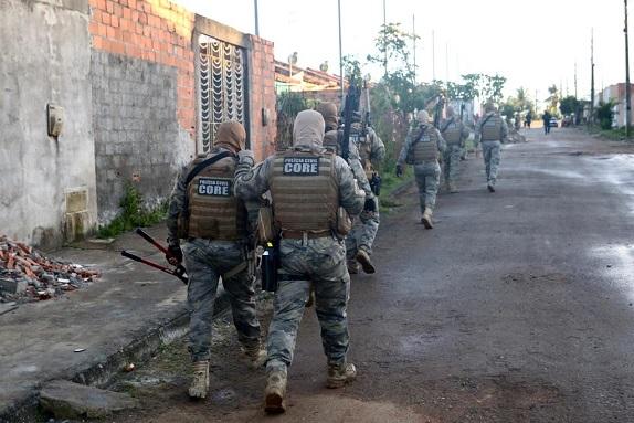 Dois mortos e 16 presos durante Operação Cavaleiros das Trevas no interior de Sergipe