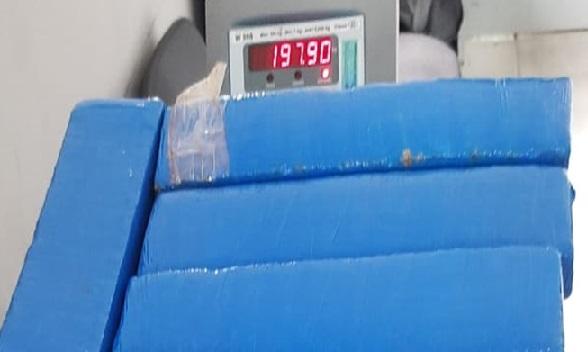 Policiais do Batalhão de Polícia Rodoviária apreendem cerca de 200 kg de drogas
