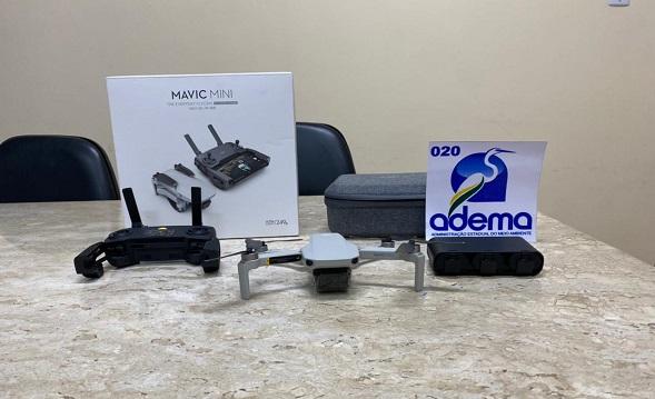 Adema utilizará drones para inibir crimes ambientais