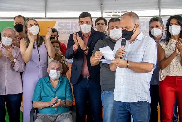 Governador autoriza reestruturação de rodovia que liga a BR-101 a Riachuelo e Malhador até o povoado Candeias