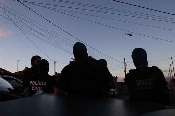 Polícia desarticula grupo criminoso que atuava com tráfico de drogas no Centro-Sul de Sergipe