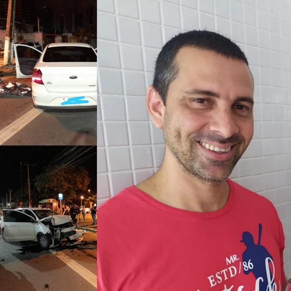 Policial Civil morre ao colidir carro contra poste em Aracaju