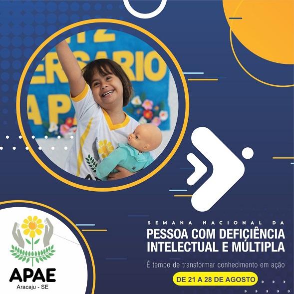 Apae Aracaju celebra Semana Nacional da Pessoa com Deficiência