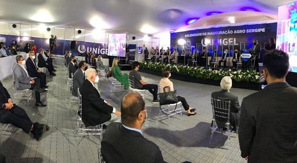 Unigel inaugura oficialmente fábrica de fertilizantes em Laranjeiras