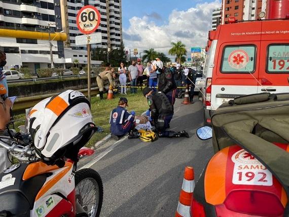 Acidente provoca morte de ciclista no bairro Jardins, em Aracaju