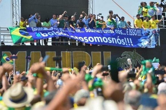 Renan Calheiros sobre o Dia da Independência: 'O fascismo não triunfará'