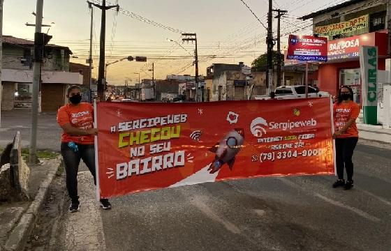 SergipeWeb anuncia chegada em mais oito bairros de Aracaju